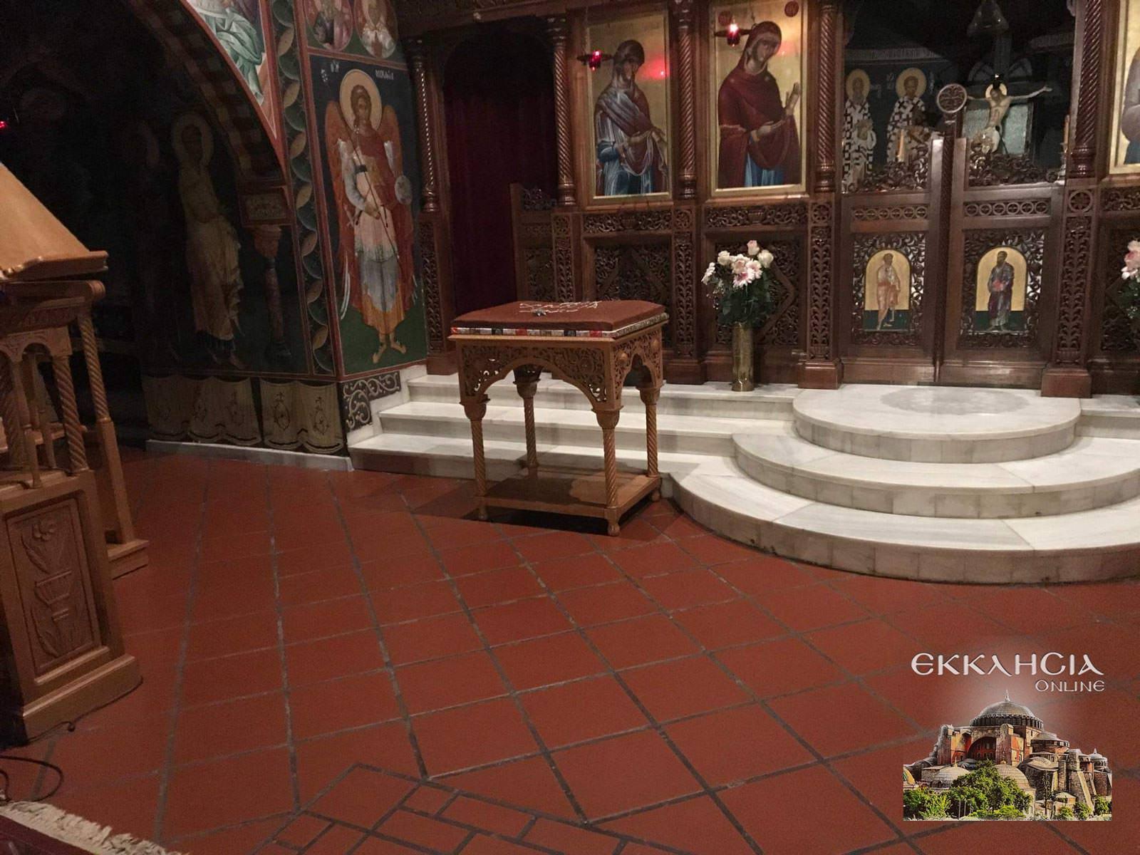 Ιερός Ναός Αγίας Άννας Κηφισιά εορτή Αγίου Βασιλείου 2019