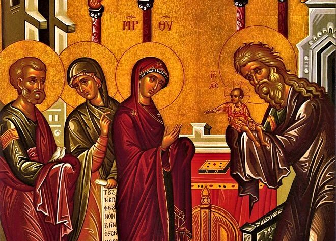 Η Υπαπαντή του Κυρίου: Η βυζαντινή εικόνα - ΕΚΚΛΗΣΙΑ ONLINE