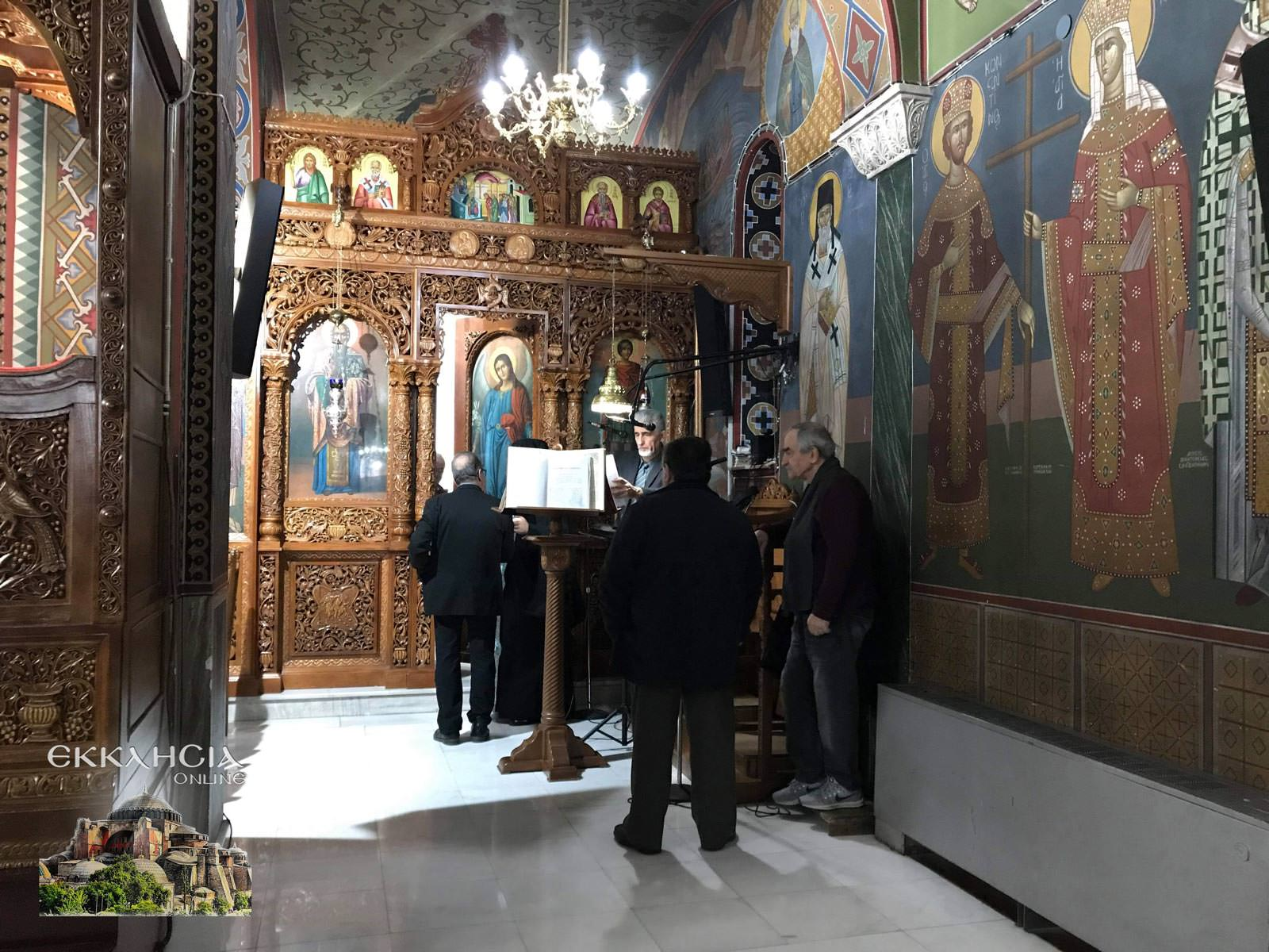 Υποδοχή Ιερών Λειψάνων Αγίου Νικολάου και Ειρήνης Χαλκίδα 2020