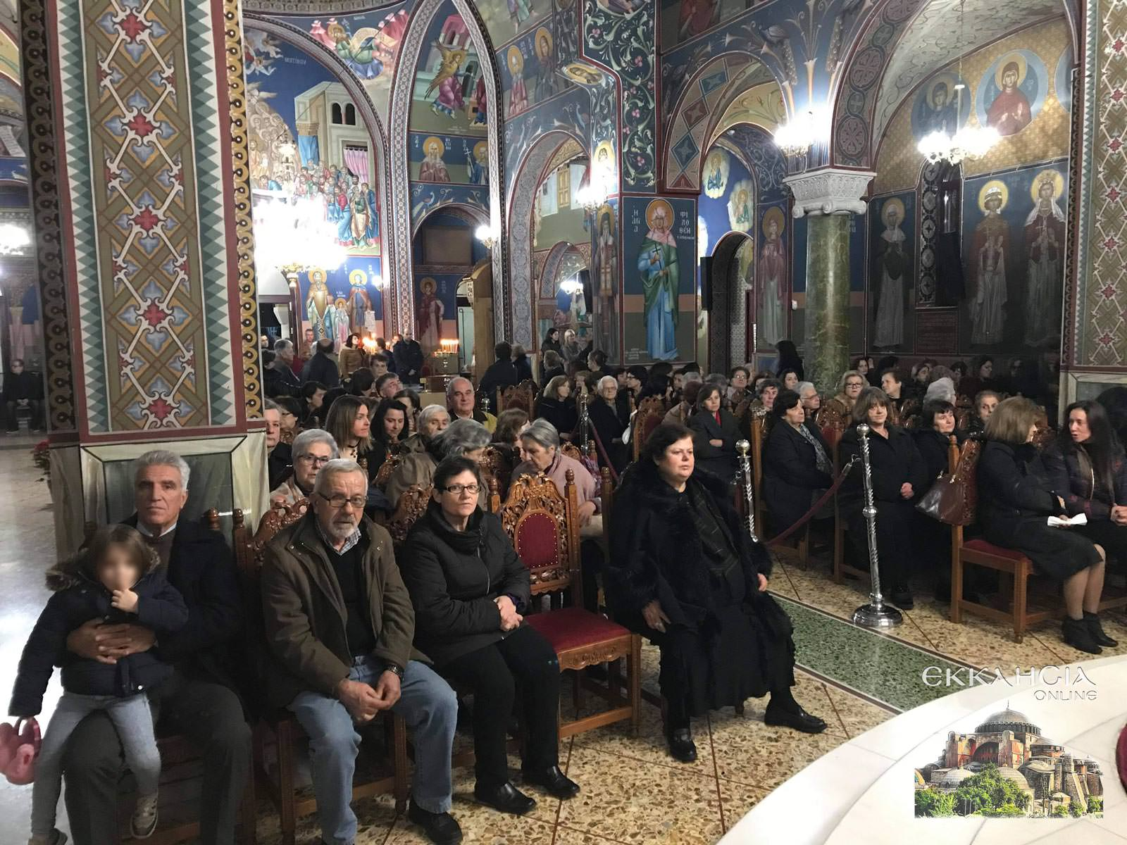 Υποδοχή Ιερών Λειψάνων Αγίου Νικολάου και Ειρήνης Χαλκίδα