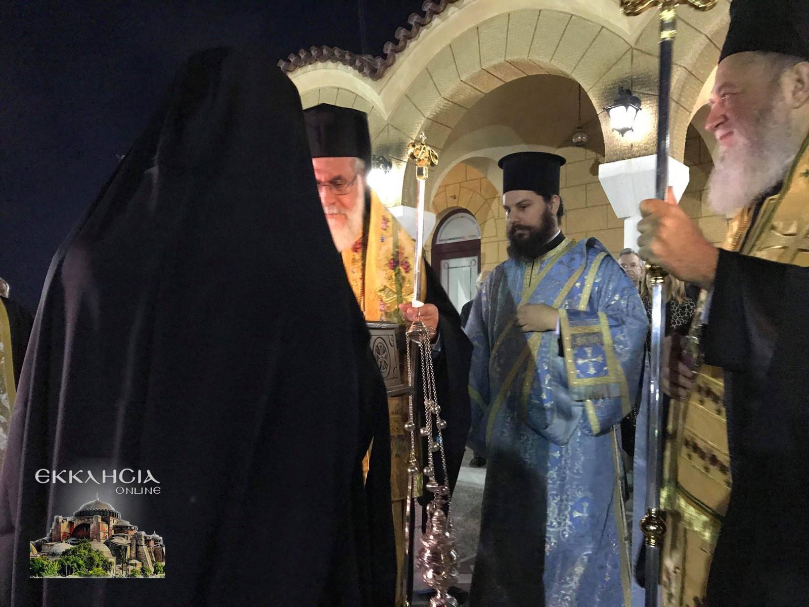Υποδοχή Λειψάνων Αγίου Νικολάου και Ειρήνης Χαλκίδα