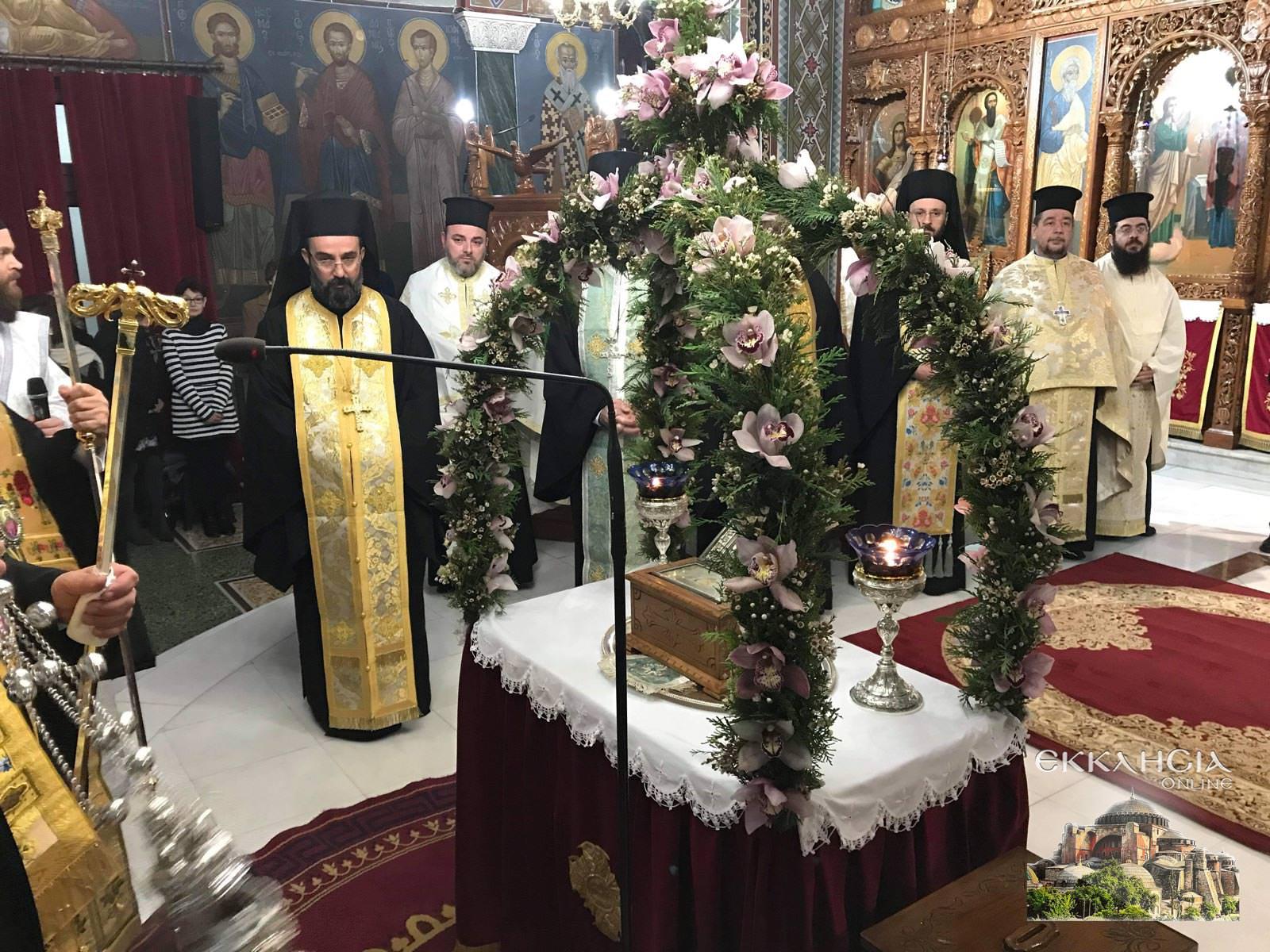 Λείψανα Αγίου Νικολάου και Ειρήνης Χαλκίδα