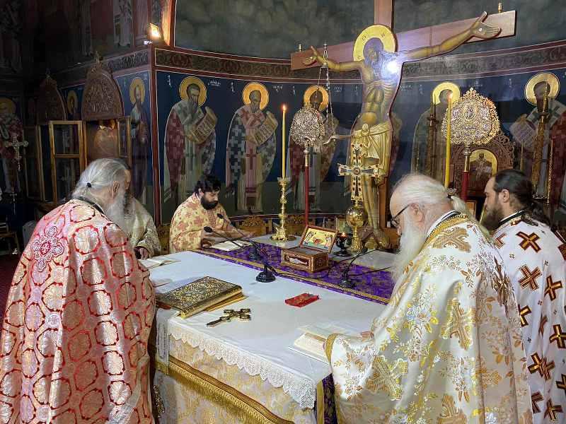 Κυριακή της Ορθοδοξίας στην Ιερά Μητρόπολη Γρεβενών 2020