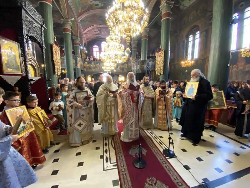 Κυριακή της Ορθοδοξίας στην Μητρόπολη Γρεβενών