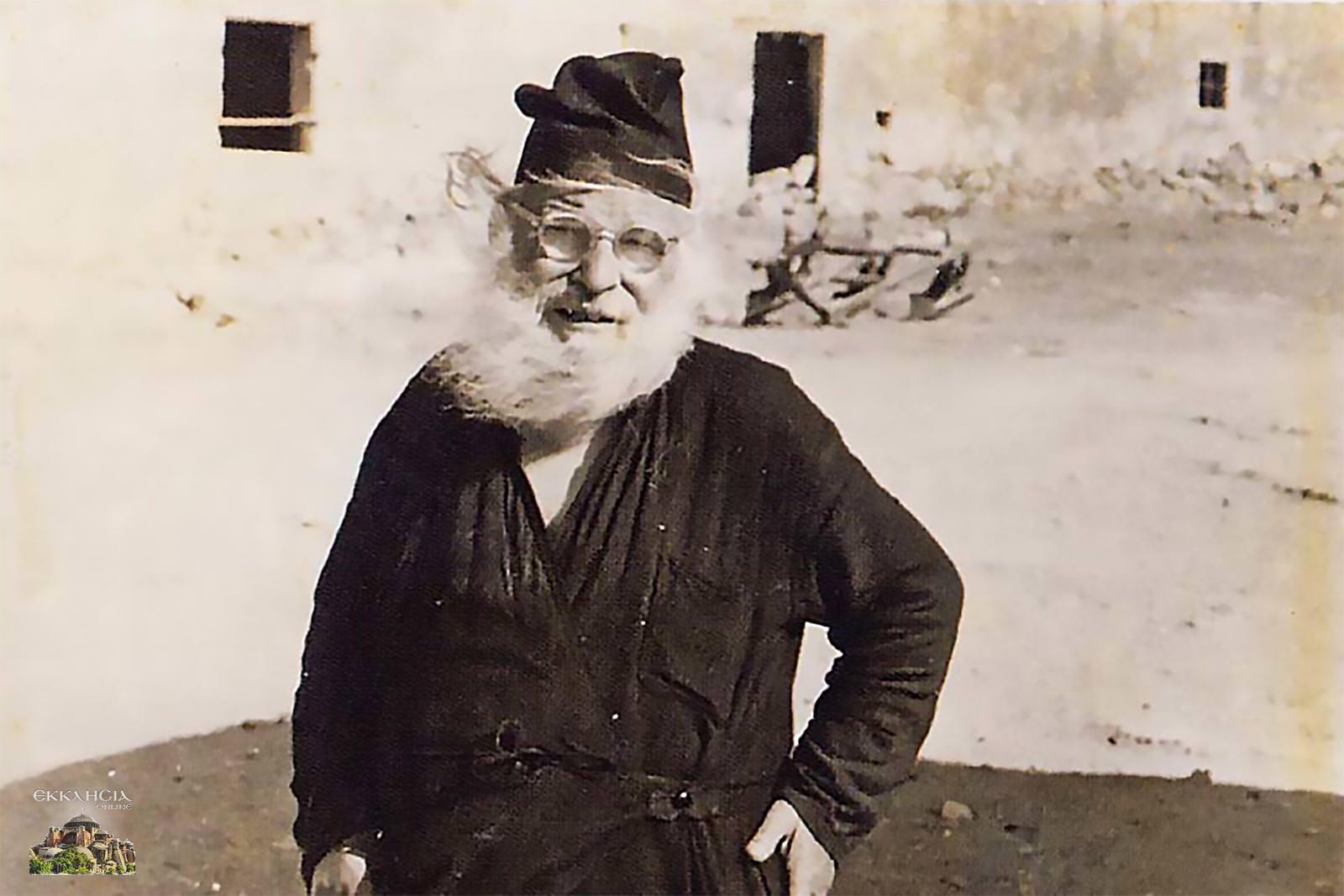 Ιερέας Λεπρών Σπιναλόγκα Χρύσανθος Κατσουλογιαννάκης