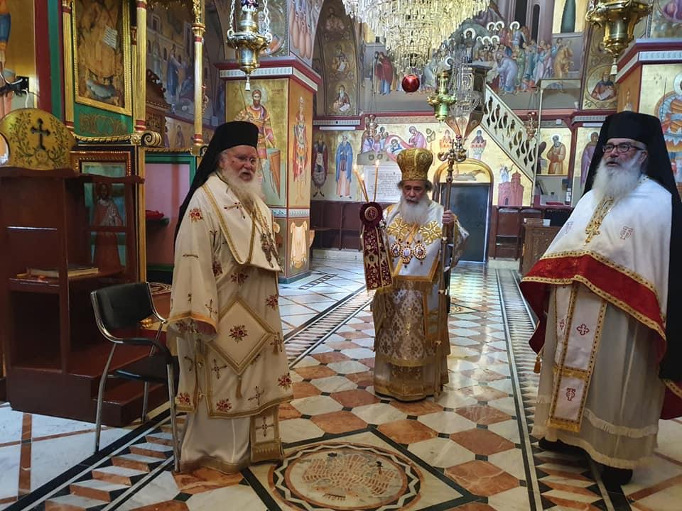 Πατριαρχική Θεία λειτουργία στην Ιερά Μονή Θαβωρίου Όρους - ΕΚΚΛΗΣΙΑ ONLINE
