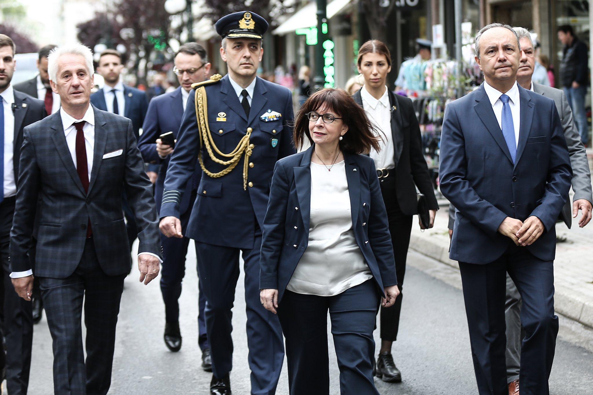 ΠτΔ Πρόεδρος της Δημοκρατίας Αικατερίνη Σακελλαροπούλου