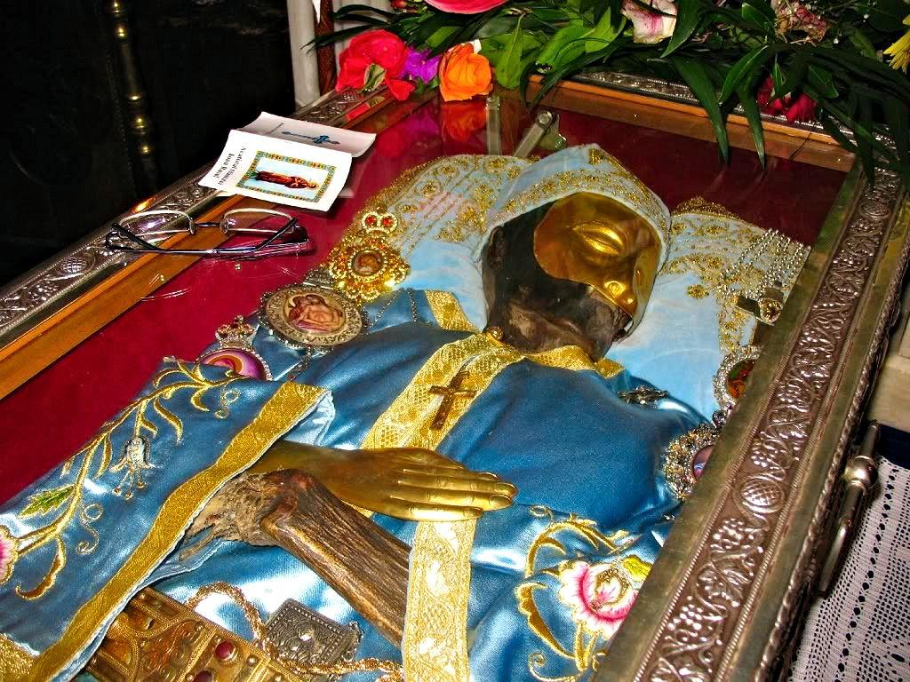 Σκήνωμα Οσίου Ιωάννη Ρώσου