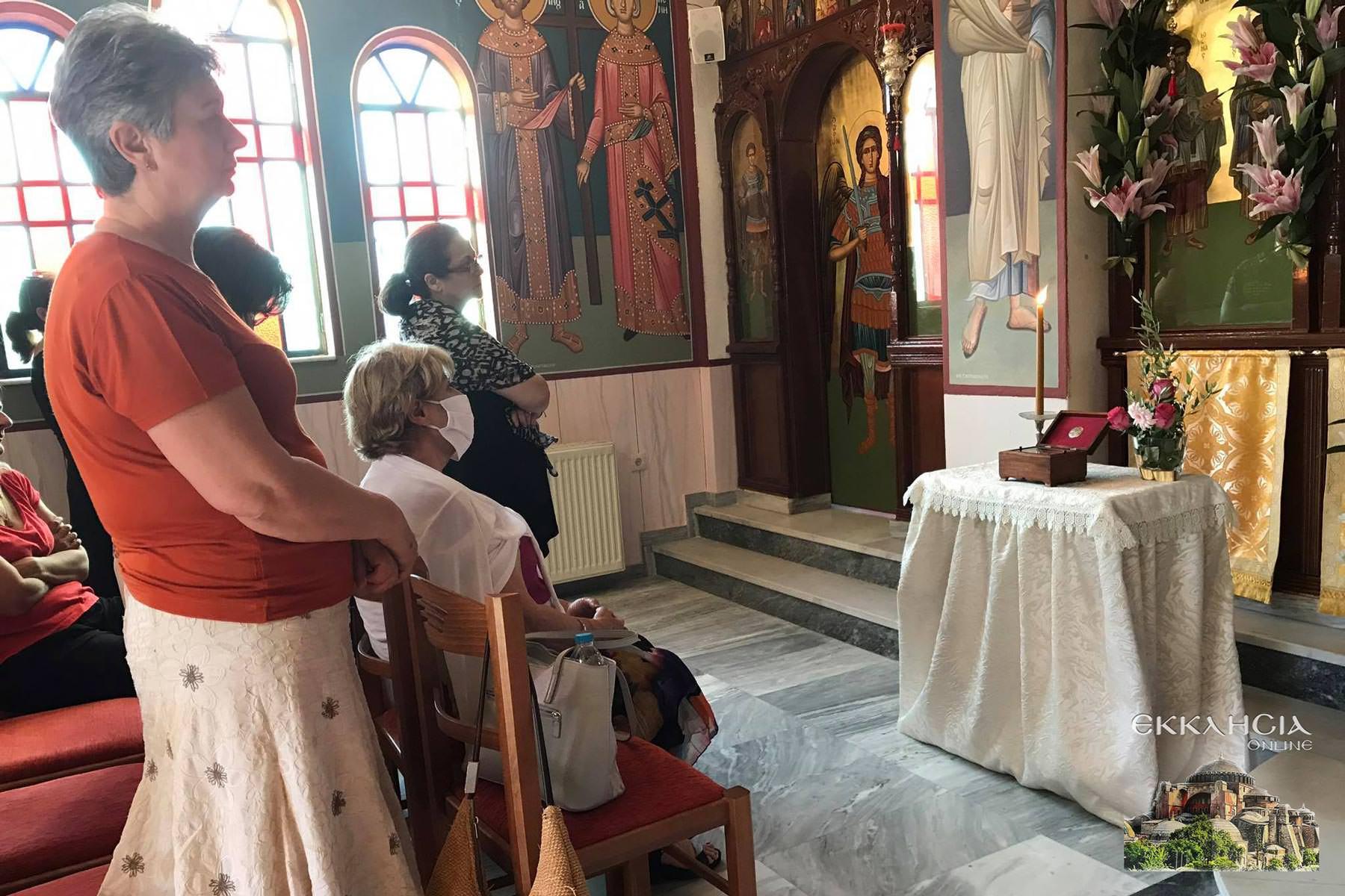 Εσπερινός Αγίων Αναργύρων Κοσμά και Δαμιανού Ιερός Ναός Άγιος Στέφανος