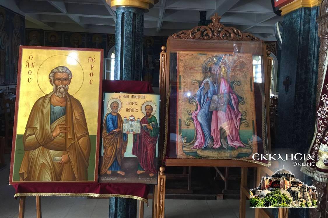 Ιερός Ναός Αγίου Αποστόλου Παύλου Λευκωσία 2020 εικονίσματα