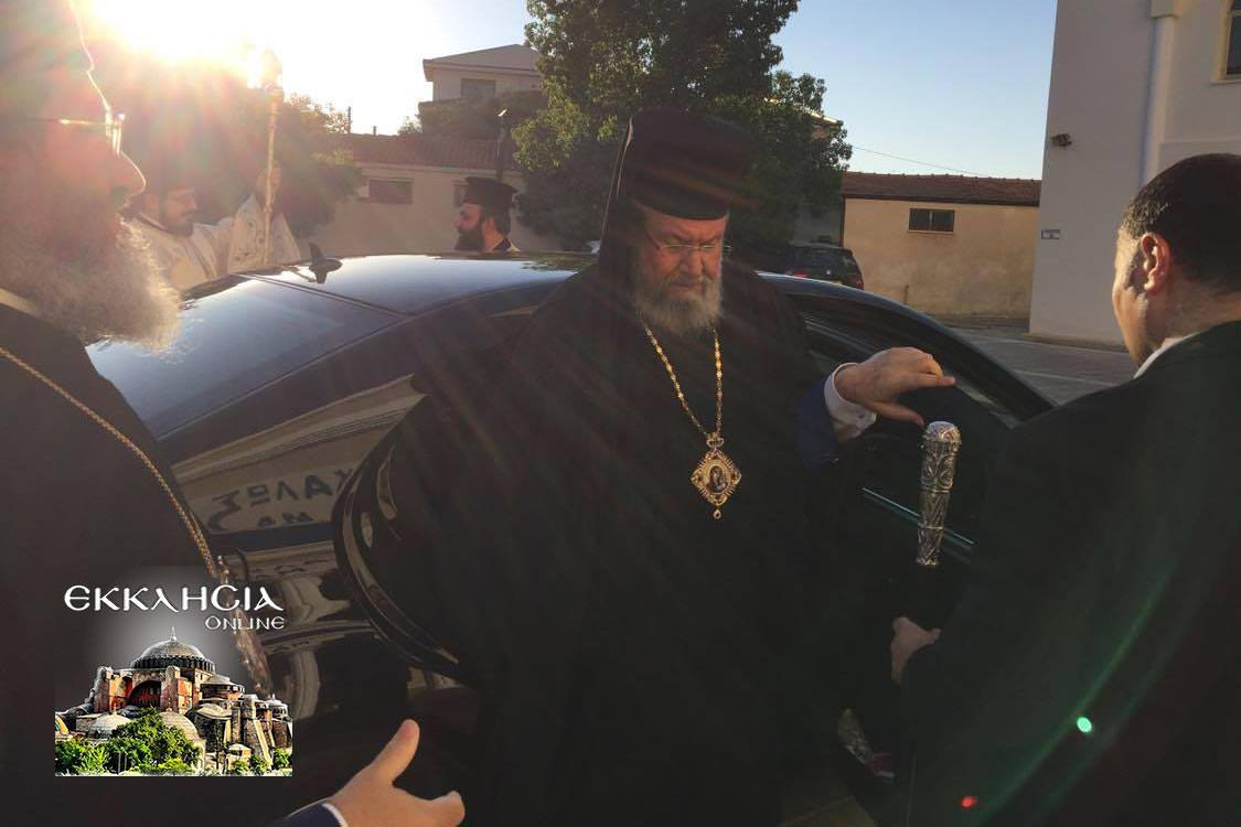 Ιερός Ναός Αγίου Αποστόλου Παύλου Λευκωσία Εσπερινός Αποστόλων Πέτρου Παύλου