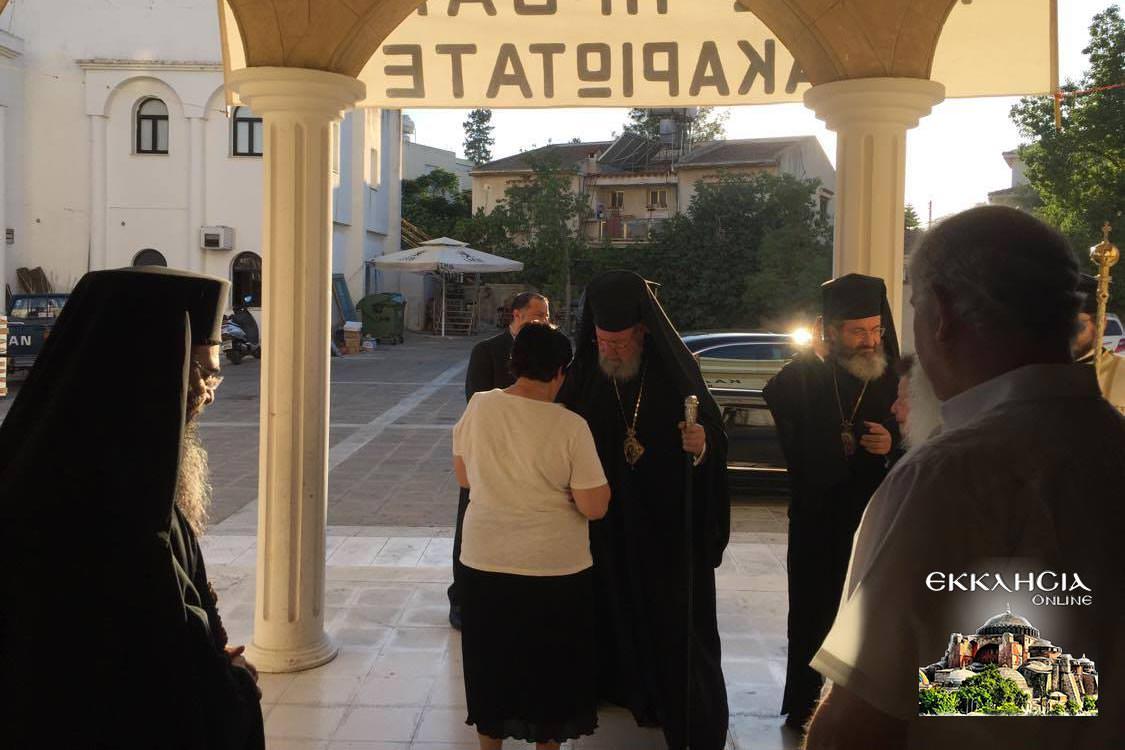 Ναός Αγίου Αποστόλου Παύλου Λευκωσία Εσπερινός Αποστόλων 2020