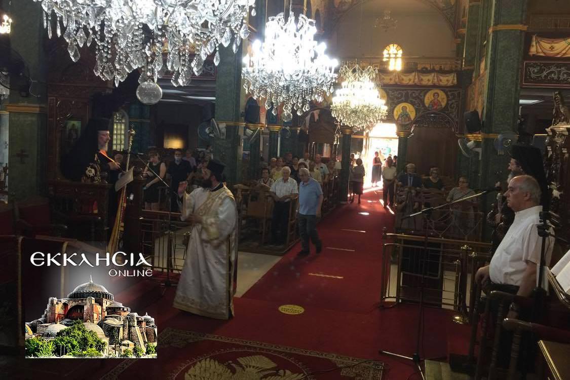 Ναός Αποστόλου Παύλου Λευκωσία Εσπερινός Πέτρου Παύλου 2020