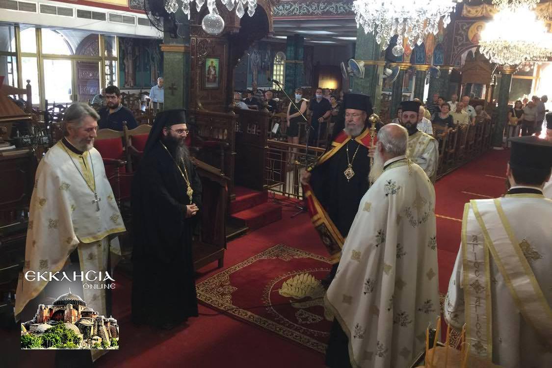 Ναός Παύλου Λευκωσία Εσπερινός Αποστόλων Πέτρου και Παύλου 2020