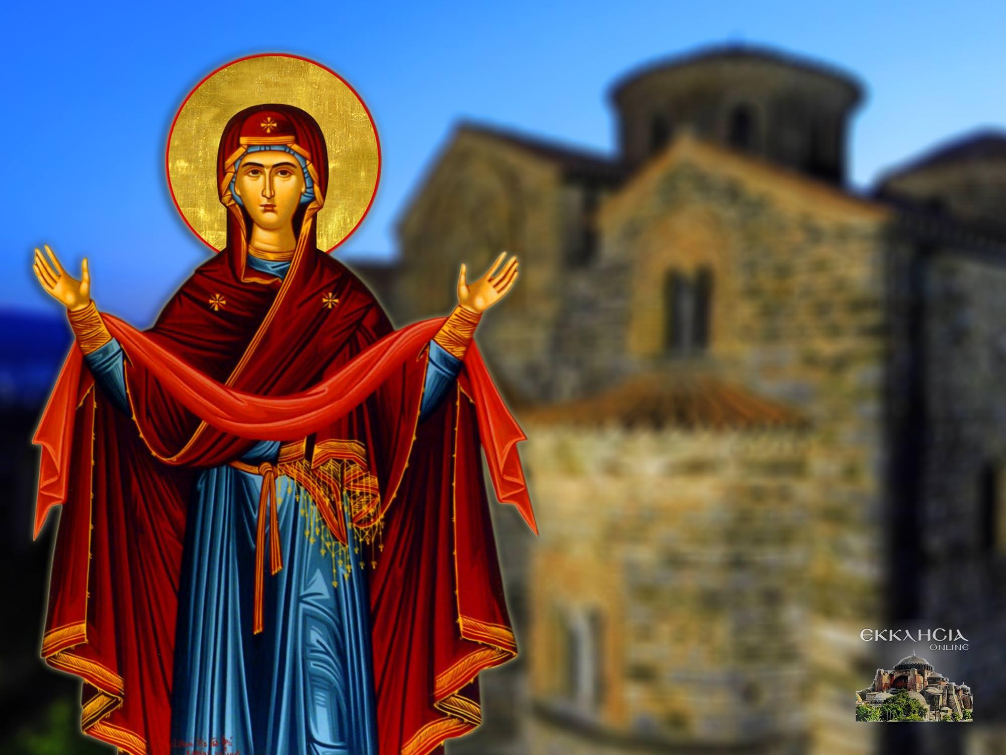 Κατάθεσις της Τιμίας Εσθήτος της Θεοτόκου 2 Ιουλίου
