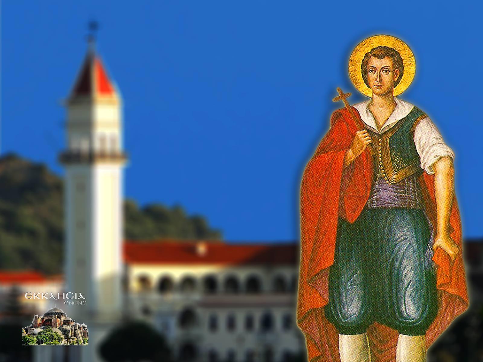 Άγιος Θεόφιλος εκ Ζακύνθου 24 Ιουλίου