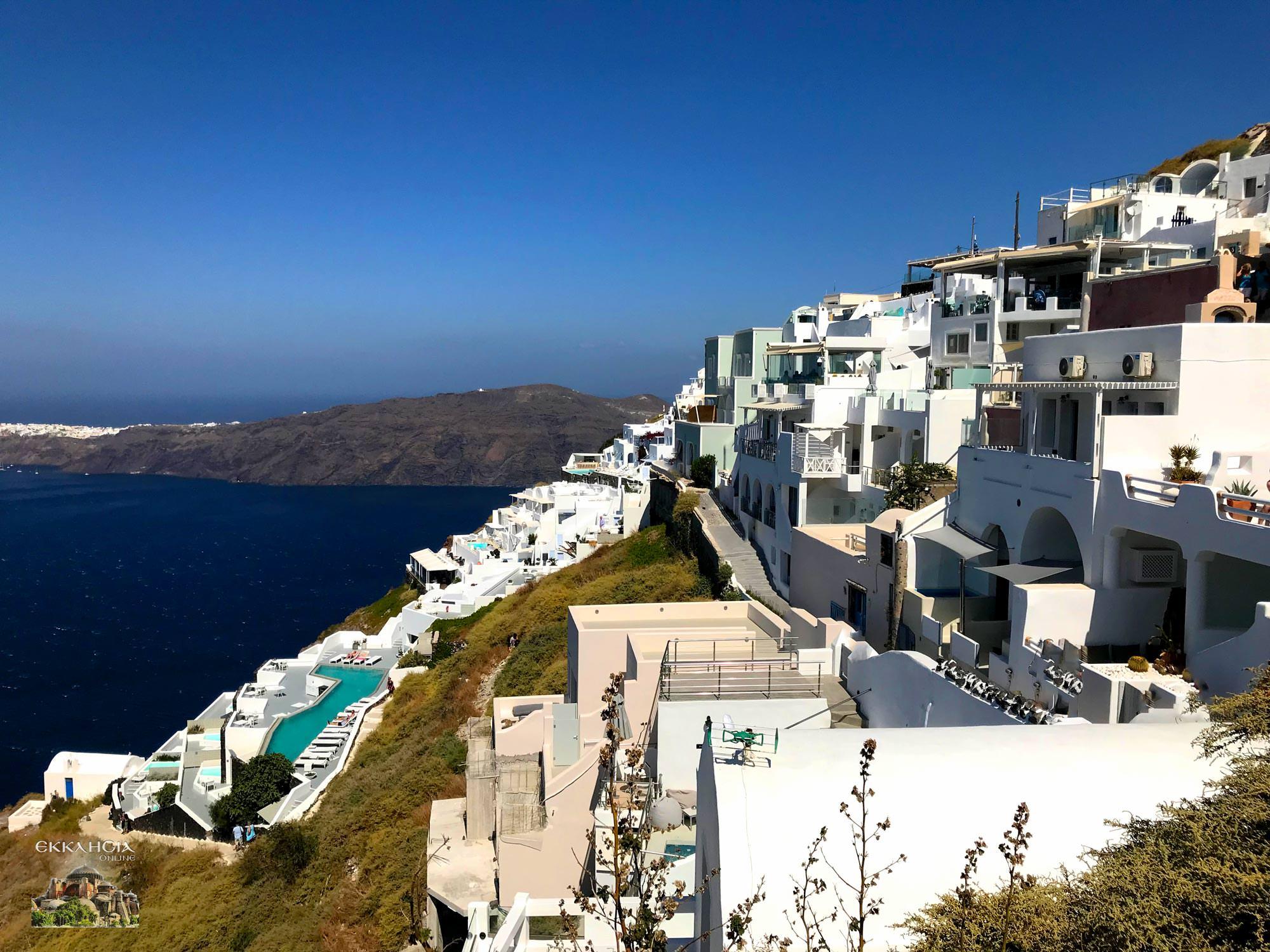 κοινωνικός τουρισμός 2020 tourism4all Σαντορίνη
