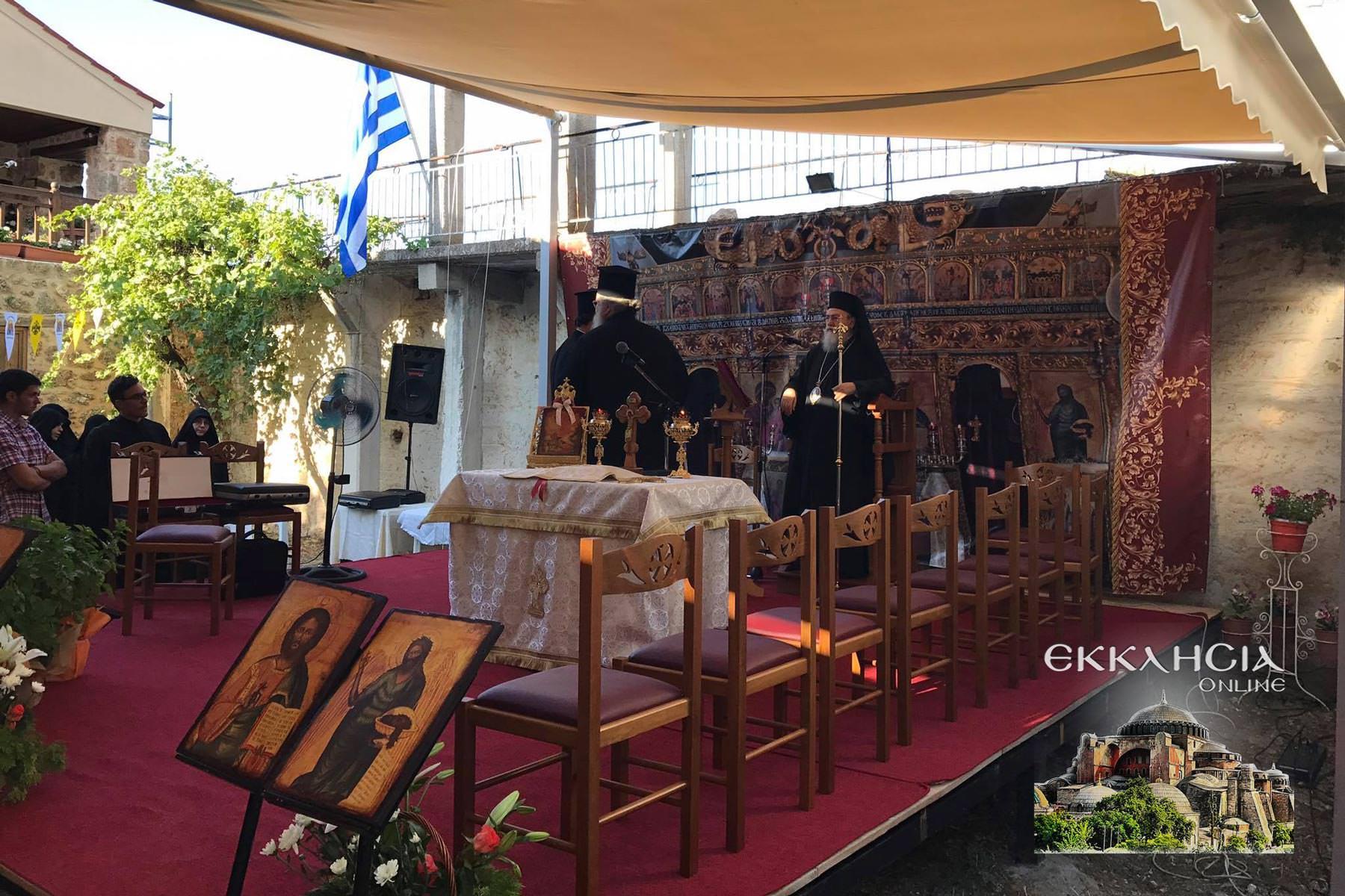 Εορτή Προφήτη Ηλία Ιερά Μονή Ζαχόλης 2020