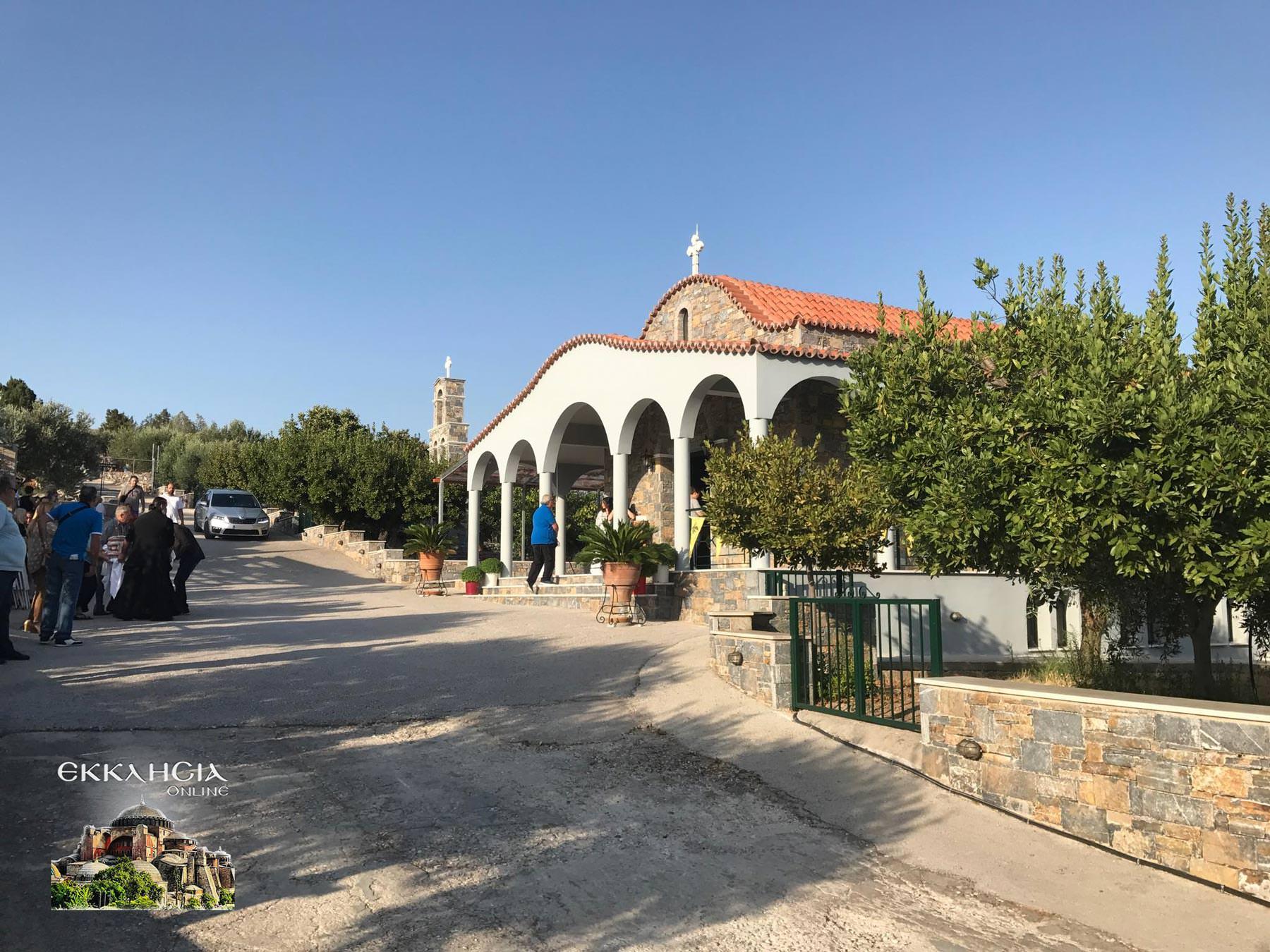 Αγίου Ραφαήλ Νικολάου Ειρήνης Μοναστήρι Σούλι