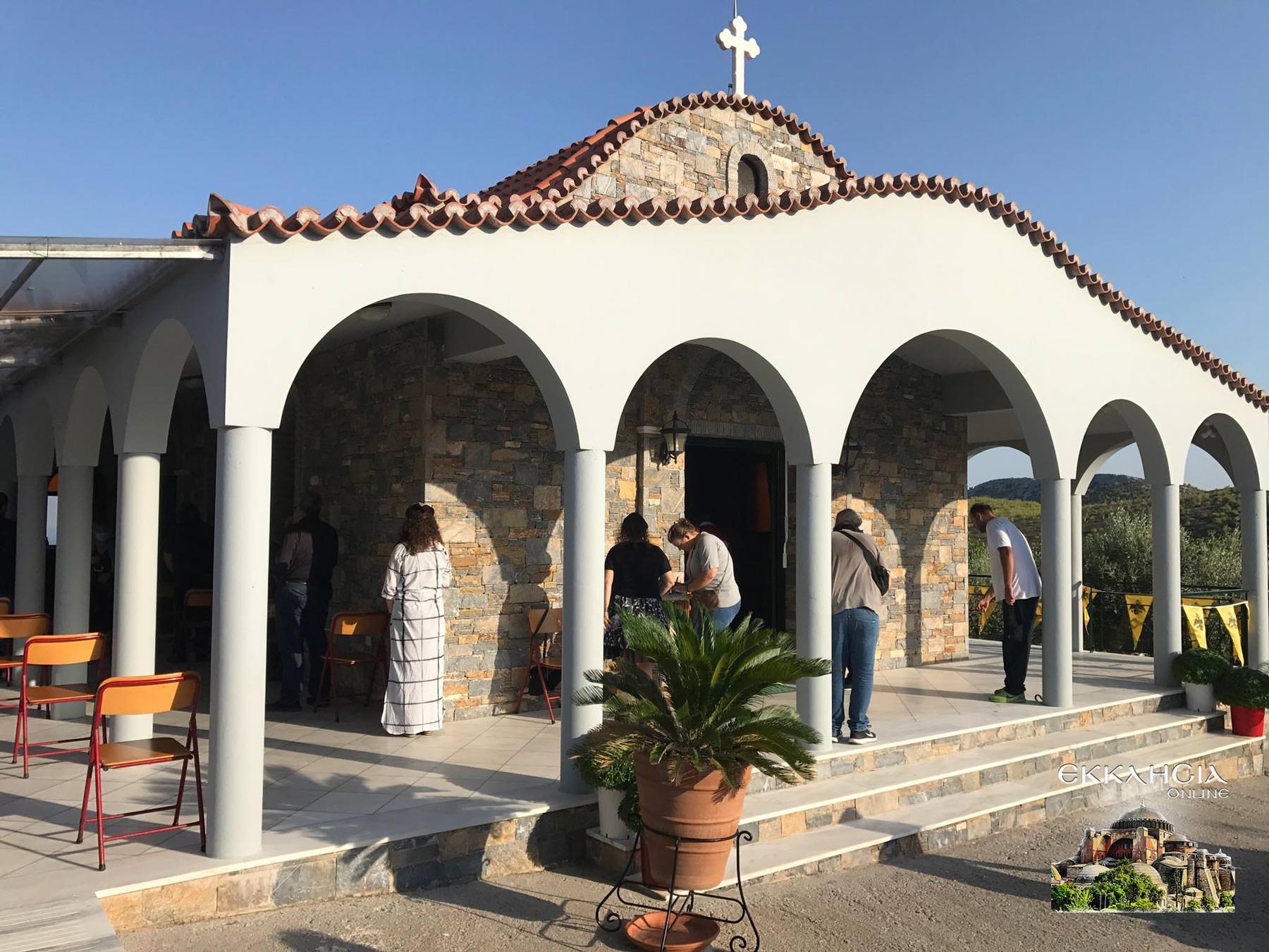 Ραφαήλ Νικολάου Ειρήνης Μοναστήρι Άνω Σούλι