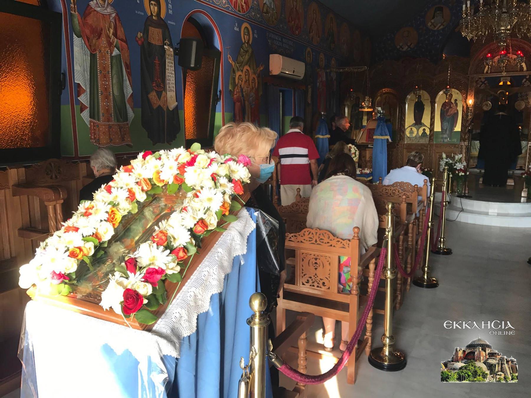 Αγίου Ραφαήλ Νικολάου Ειρήνης Μοναστήρι Άνω Σούλι Εσπερινός 2020