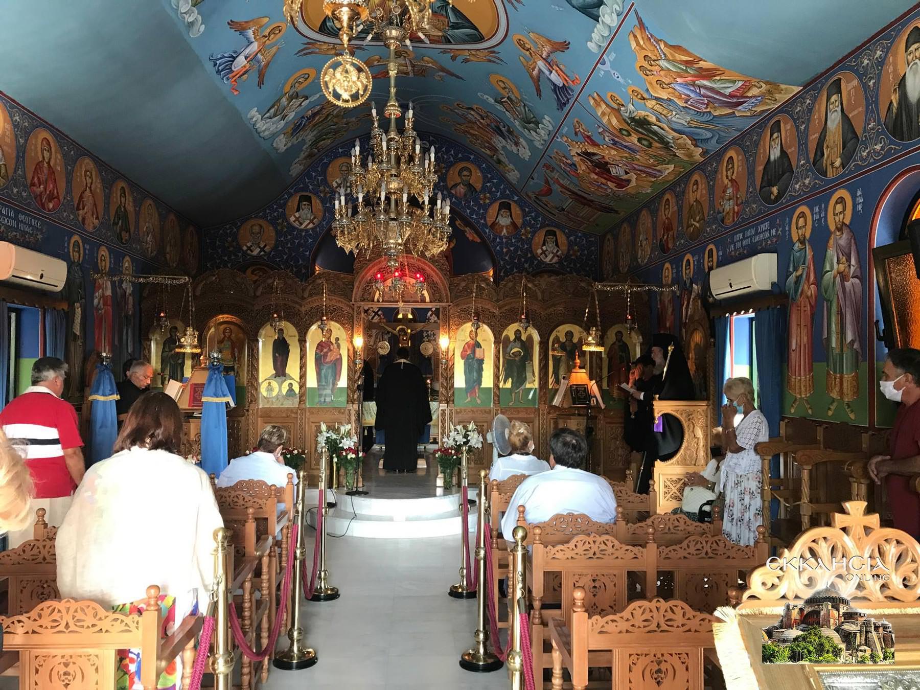 Αγίου Ραφαήλ Νικολάου Ειρήνης Μοναστήρι Άνω Σούλι Εσπερινός