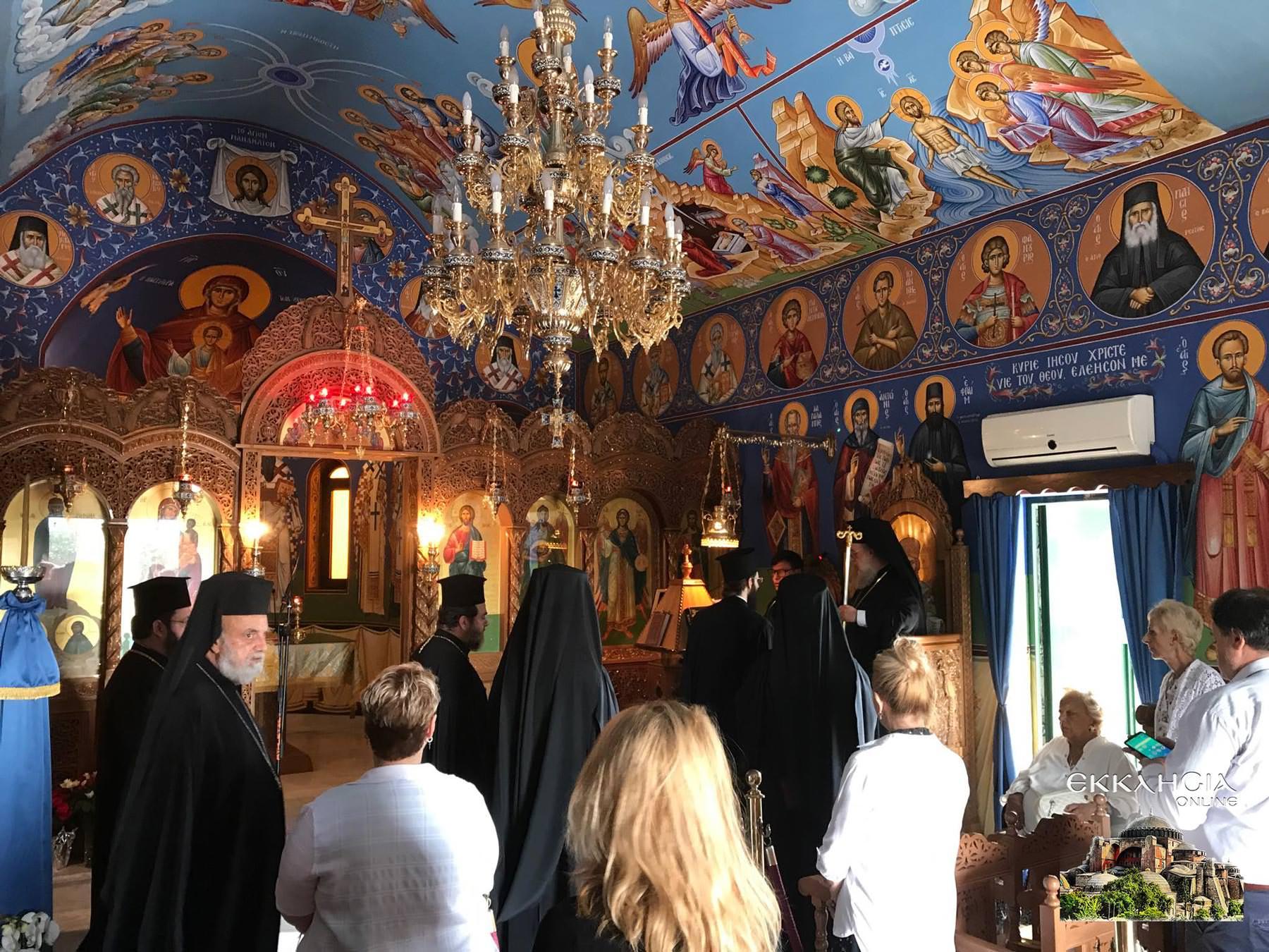 Μοναστήρι Αγίου Ραφαήλ Νικολάου Ειρήνης Άνω Σούλι 2020