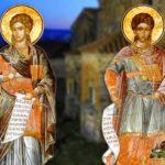 Άγιοι Σέργιος και Βάκχος οι Μάρτυρες 7 Οκτωβρίου