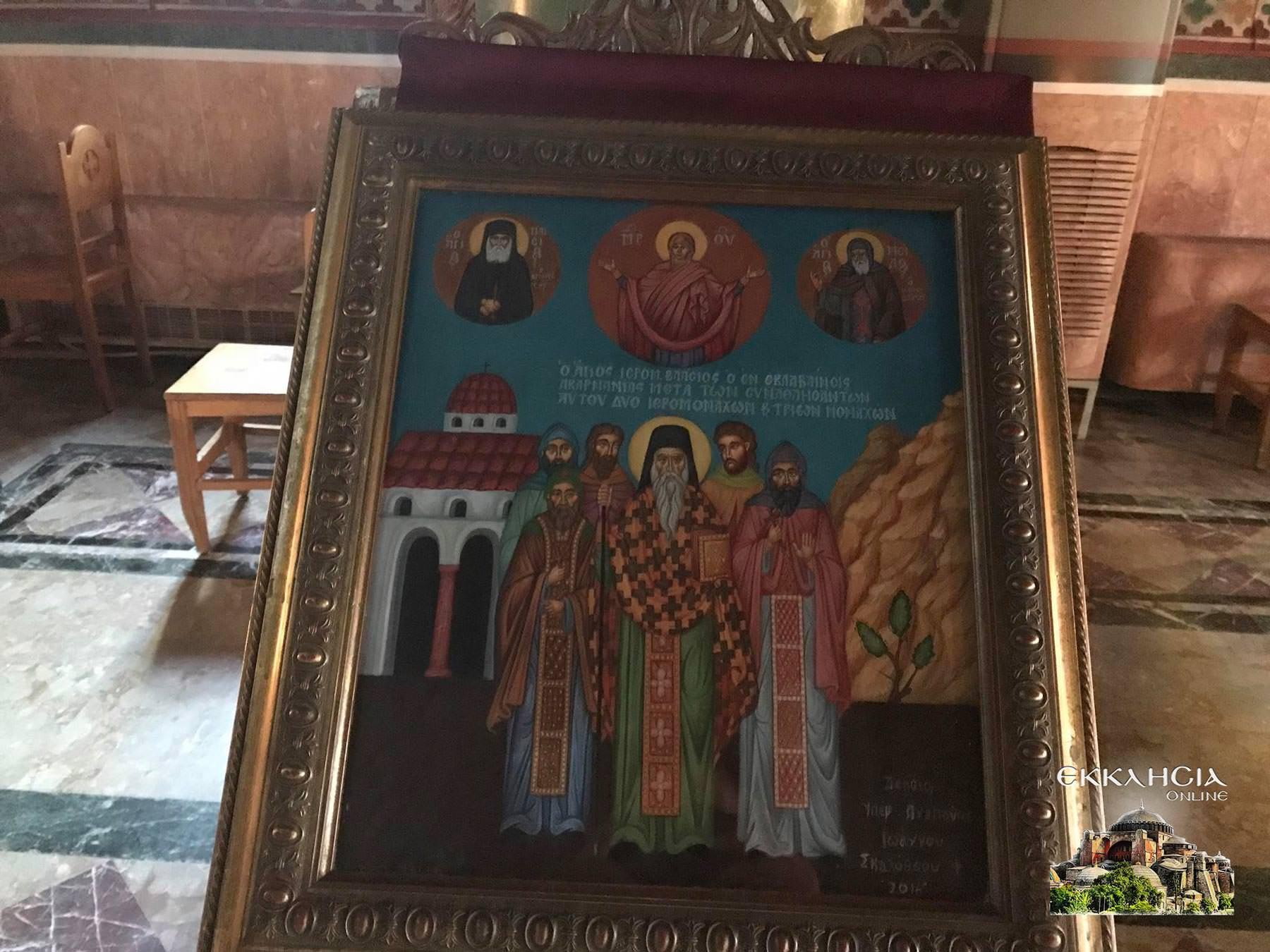 Ιερός Ναός Αγίου Νείλου Πειραιάς Εσπερινός 2020