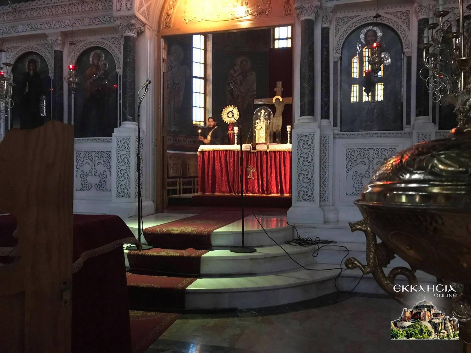 Ιερός Ναός Αγίου Νείλου 2020