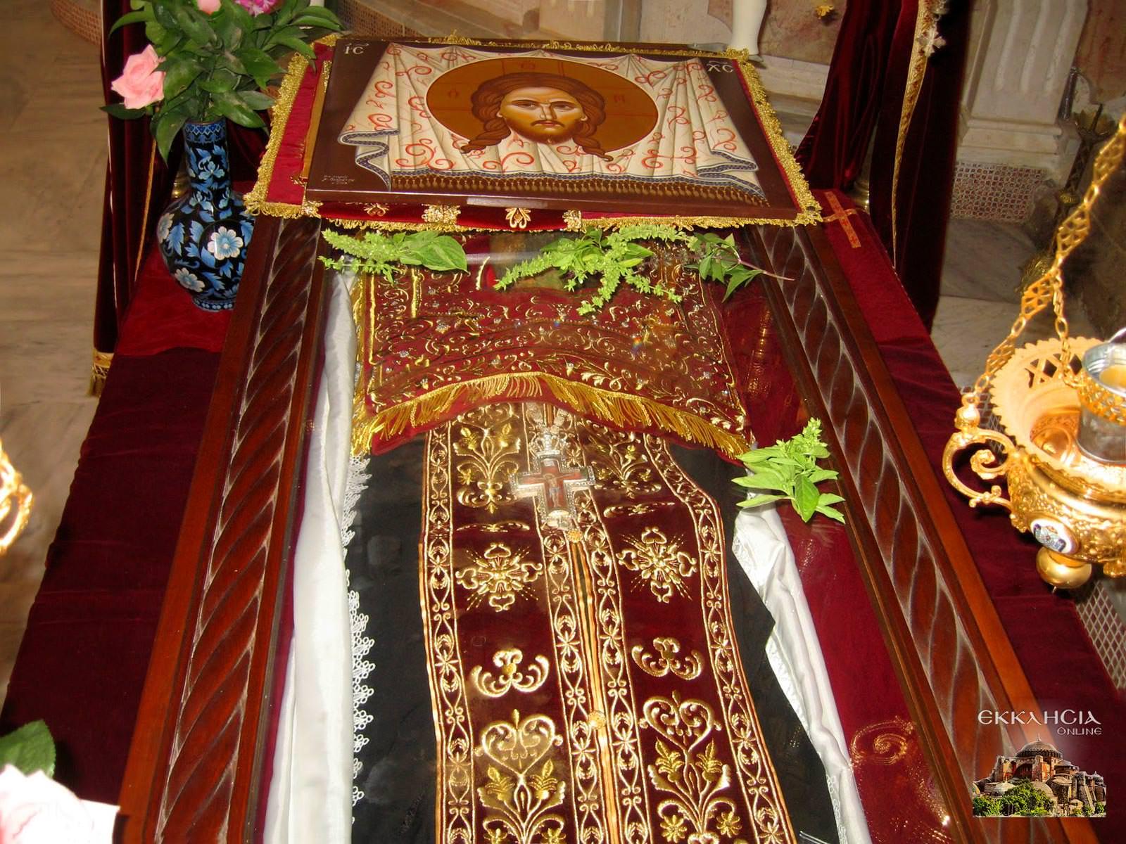 Άγιος Φιλούμενος Ιερό Λείψανο