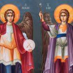Αρχάγγελοι Μιχαήλ και Γαβριήλ 8 Νοεμβρίου