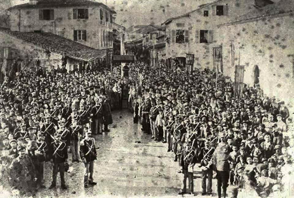 Λιτανεία Αγίου Διονυσίου Λευκάδα 1898