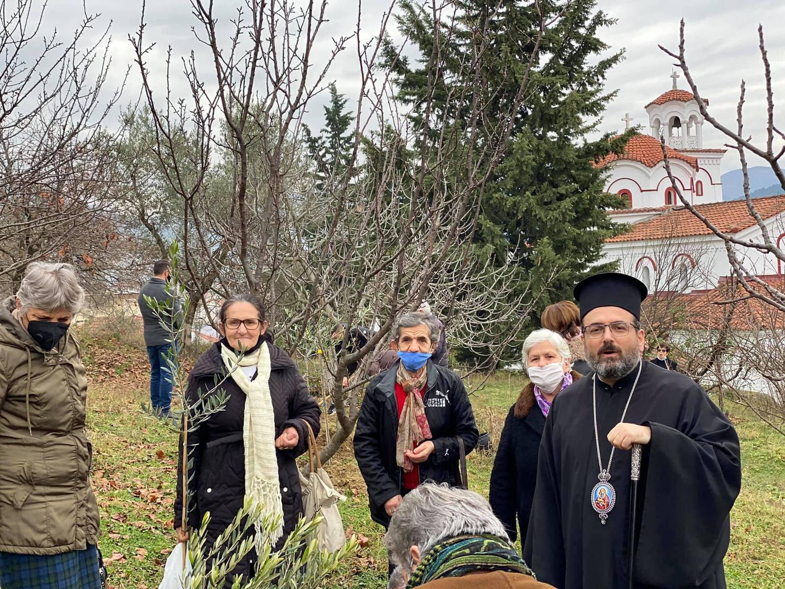 Μητρόπολη Ελμπασάν Δενδροφύτευση Αλβανία 2020