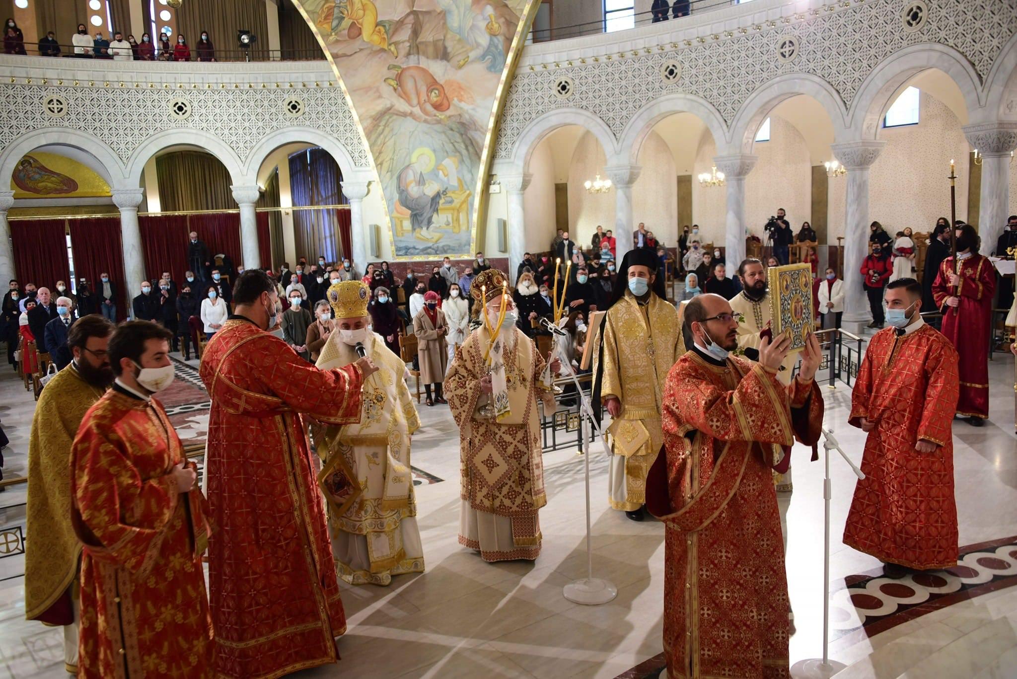 Αρχιεπίσκοπος Αναστάσιος Χριστούγεννα Τίρανα 2020