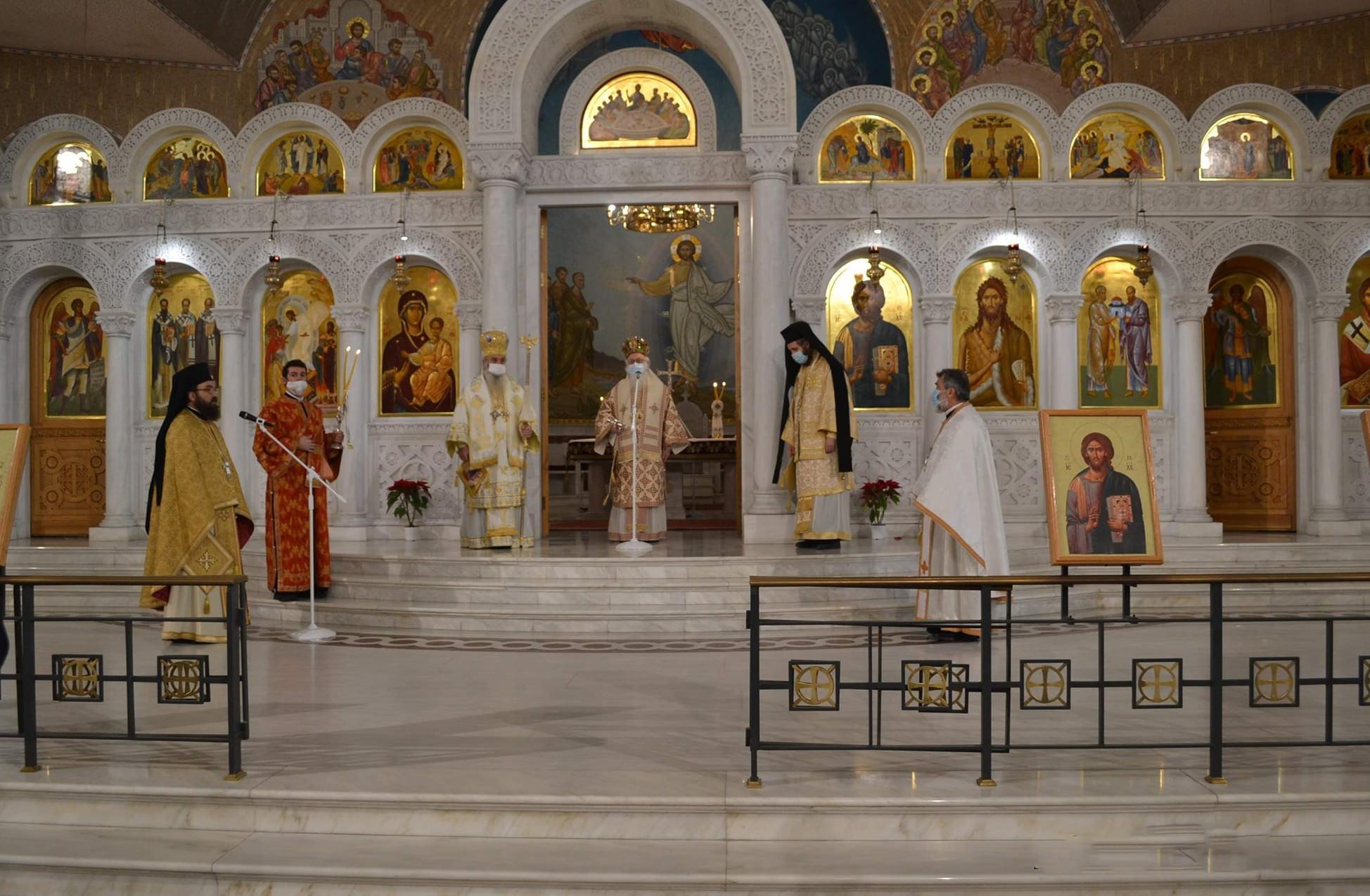 Αρχιεπίσκοπος Αναστάσιος Χριστούγεννα 2020
