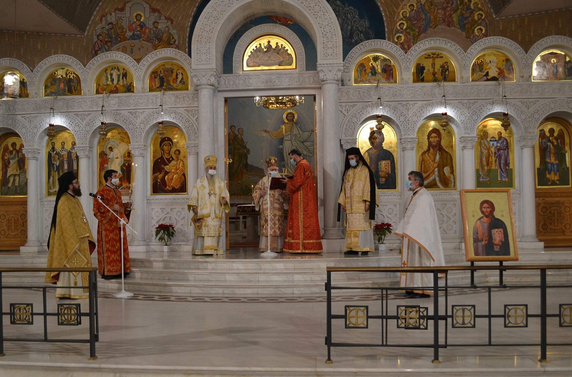 Αρχιεπίσκοπος Αναστάσιος Χριστούγεννα Τίρανα