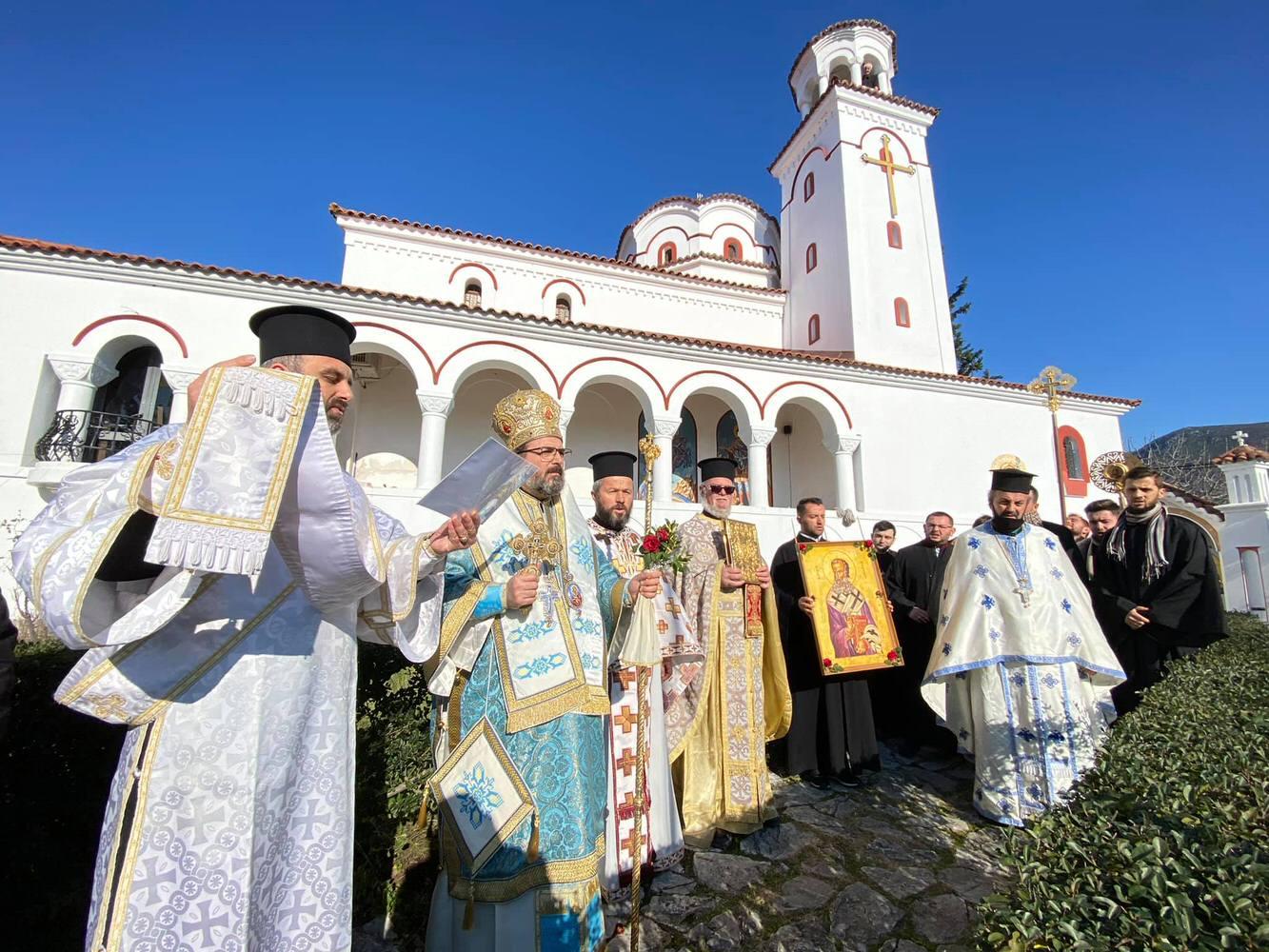 εορτή Αγίου Αθανασίου Μητρόπολη Ελμπασάν Αλβανίας 2021
