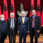 Πρόεδρο Αλβανίας μνήμη Αλέξανδρος Λίπε