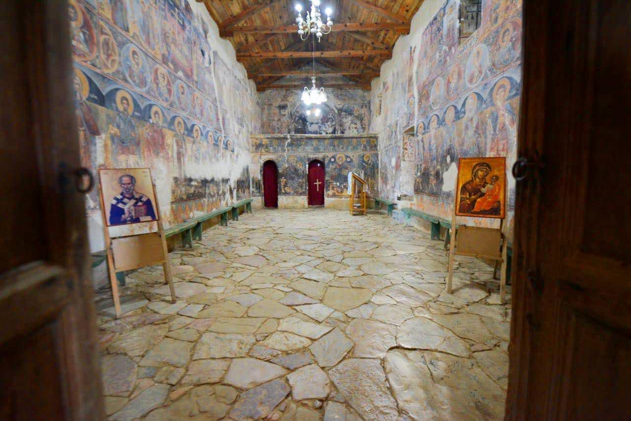 ναός αγίου Νικολάου στο χωριό Σέλτσαν του Ελμπασάν