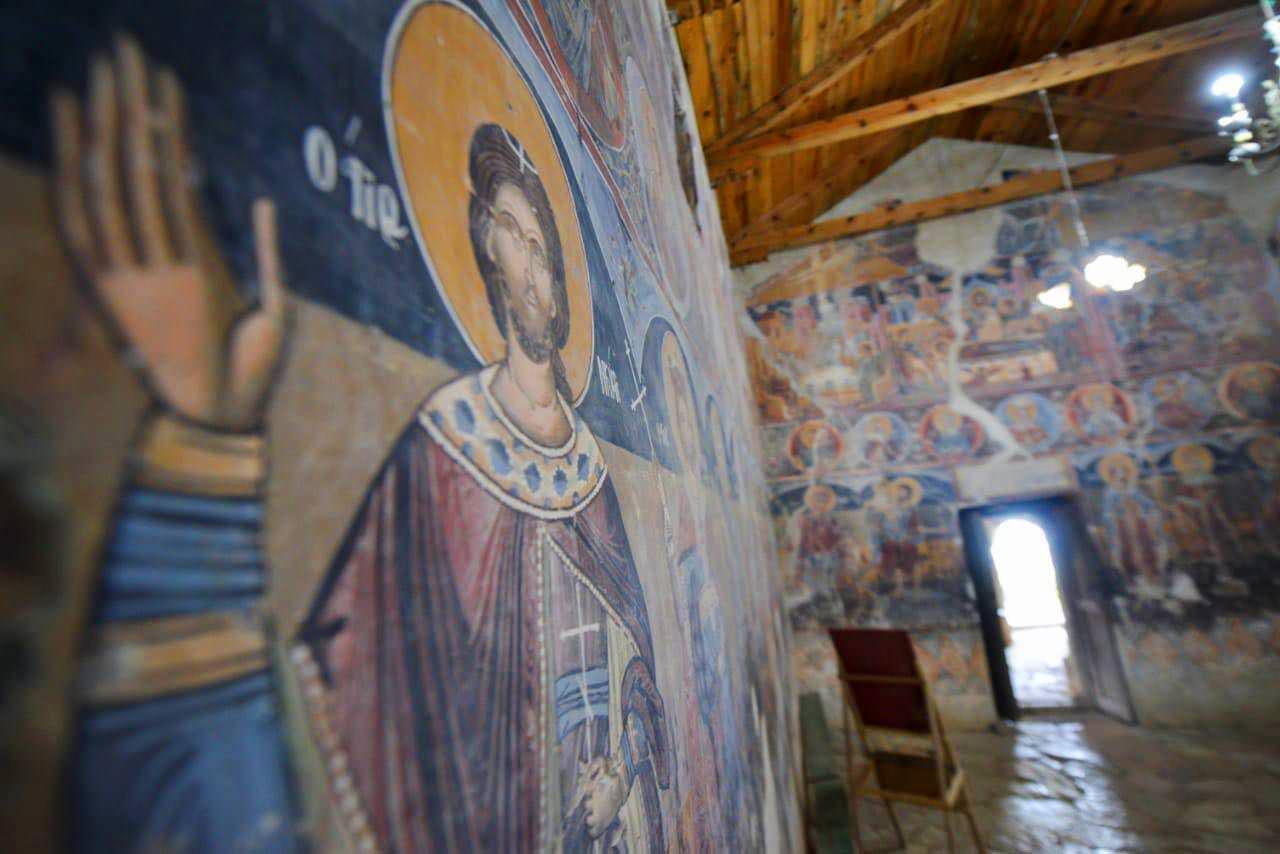 ναός αγίου Νικολάου στο χωριό Σέλτσαν Ελμπασάν