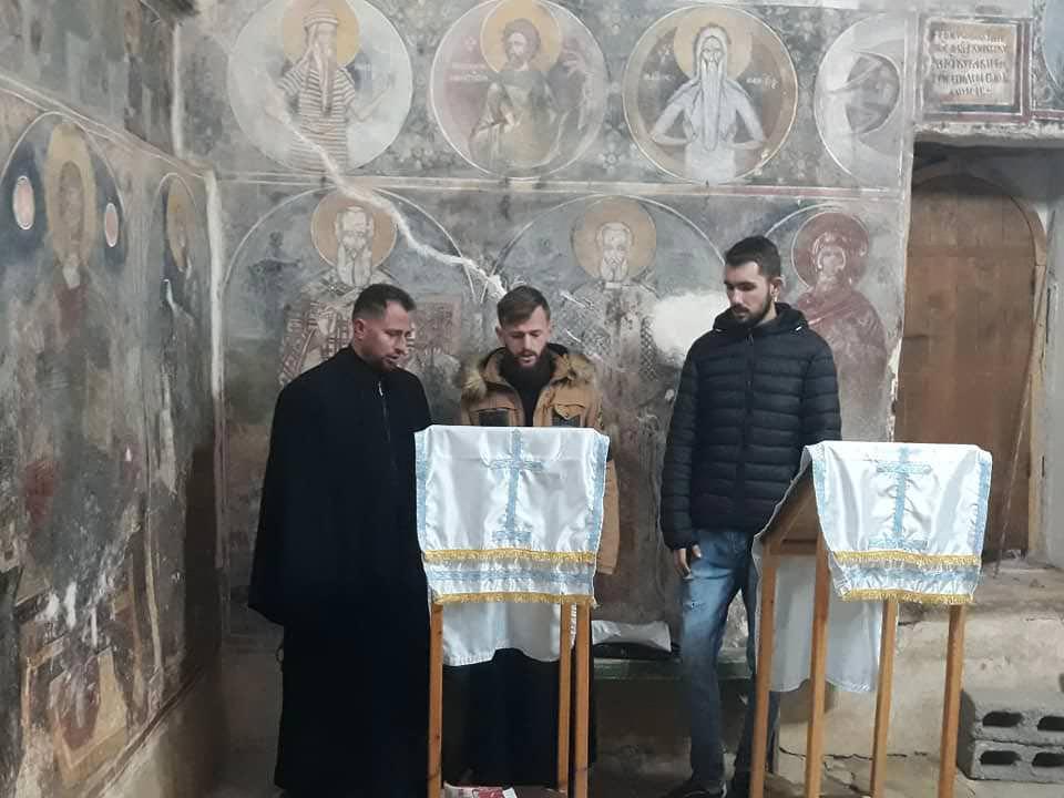 ναός αγίου Νικολάου στο χωριό Σέλτσαν