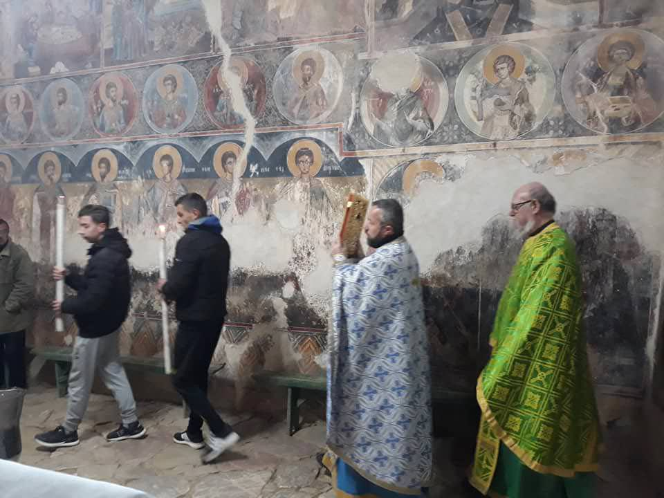 Λειτουργία αγίου Νικολάου Ελμπασάν