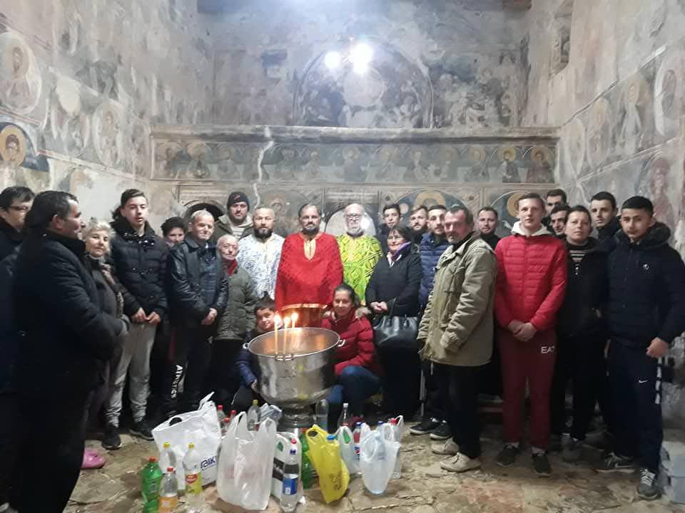 Λειτουργία αγίου Νικολάου Αλβανία