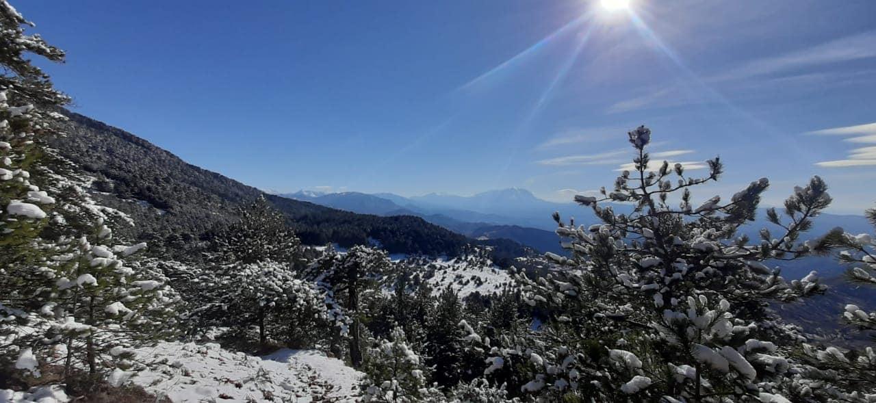 Ελμπασάν χιόνια