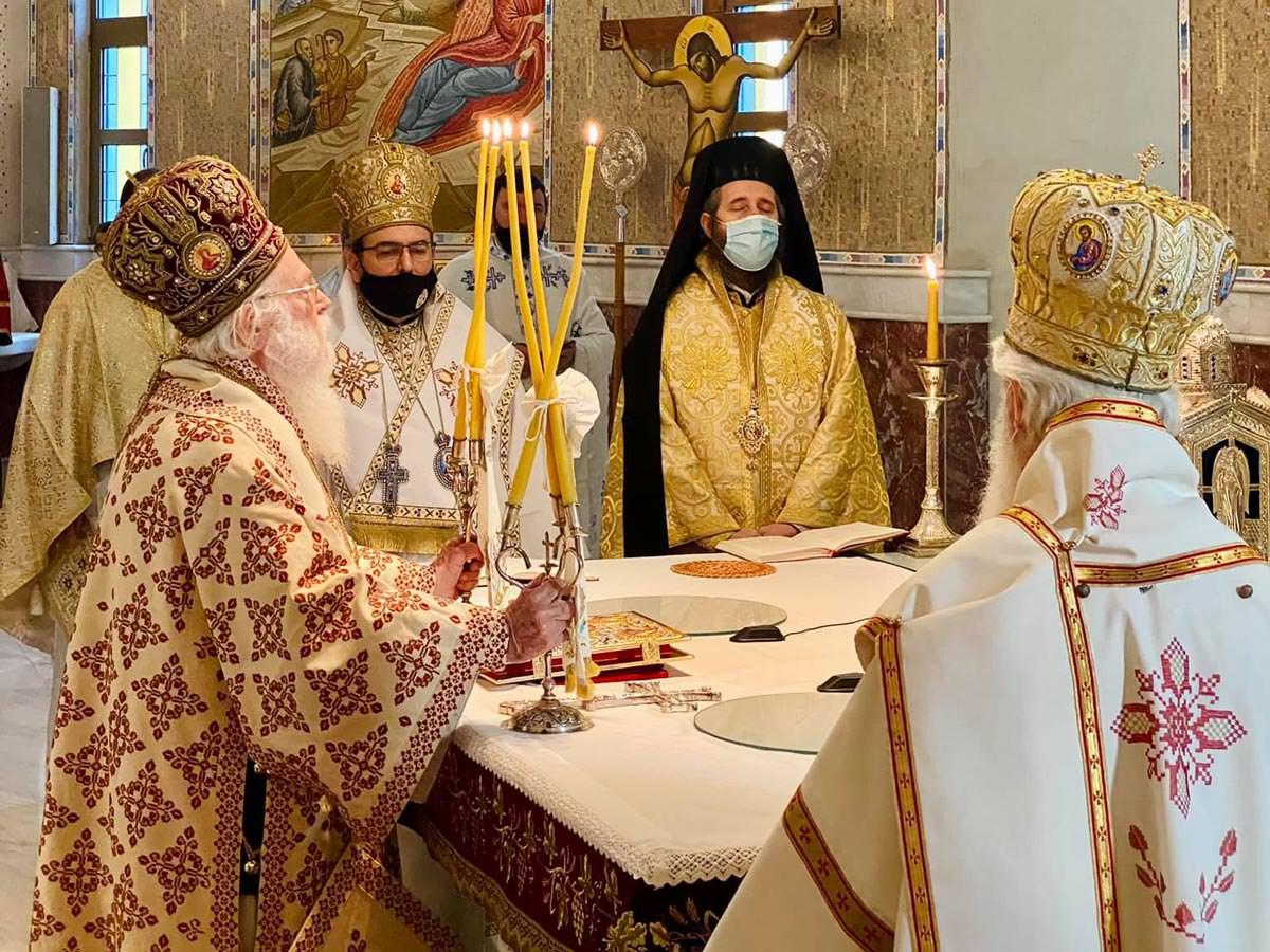 ευχές Ορθοδόξων Αρχιεπίσκοπος Αναστάσιος
