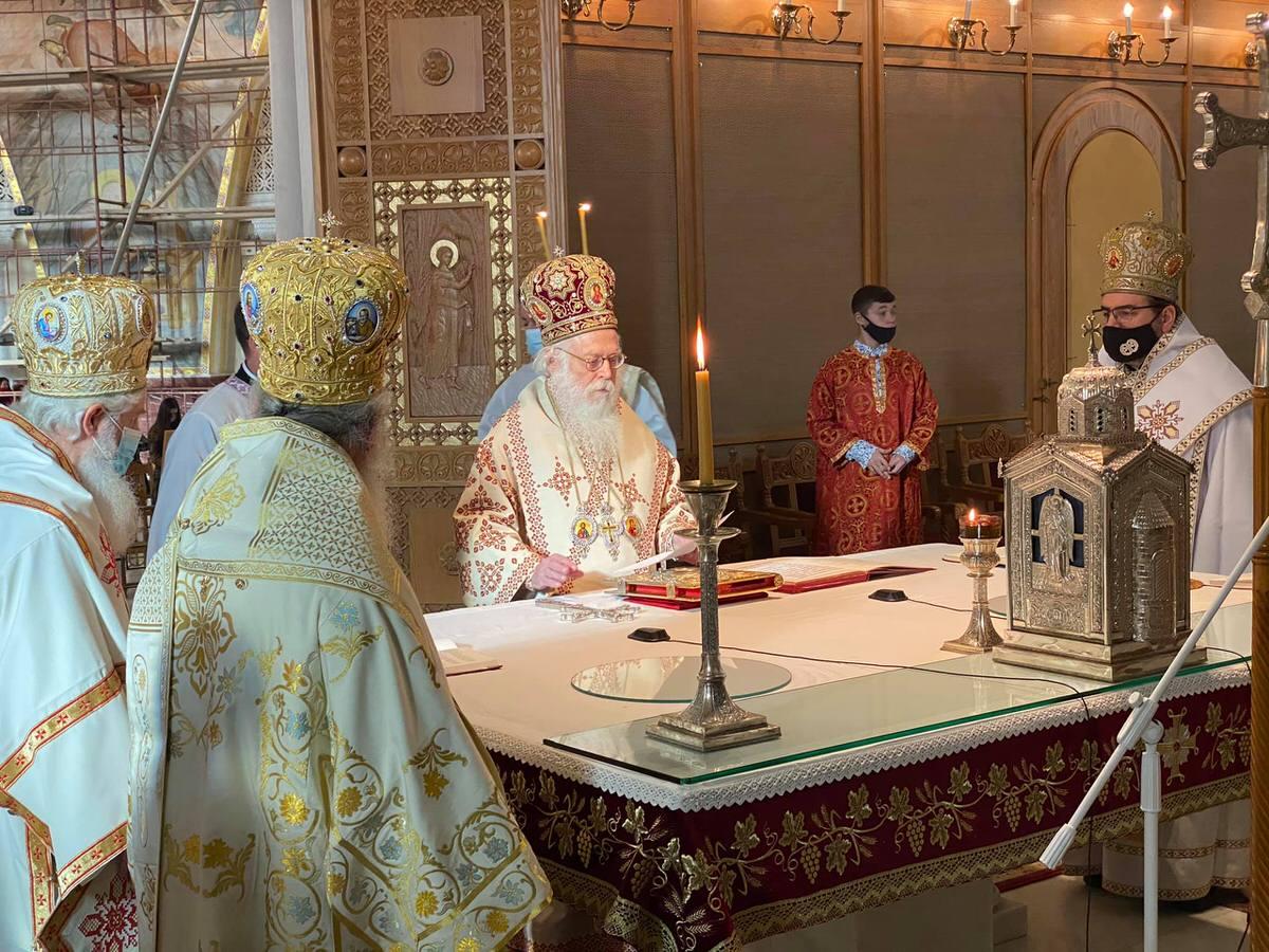 ευχές Ορθοδόξων Αρχιεπίσκοπος Αναστάσιος 2021