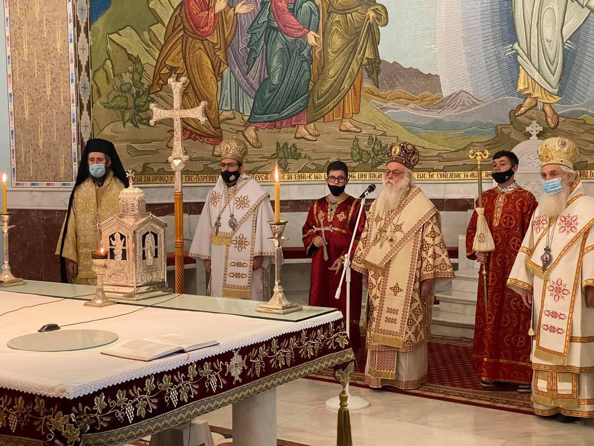 Αρχιεπίσκοπος Αναστάσιος 2021
