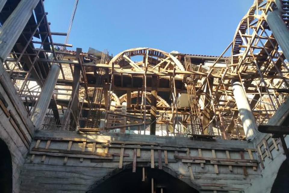 Ναός Κορυτσά Ανακατασκευή