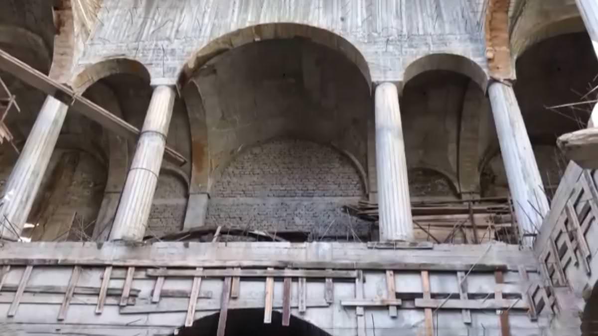 καθεδρικός ναός Κορυτσά Ανακατασκευή
